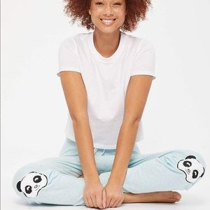 🔥FLASH SALE🔥Blue panda jogging/pyjama pants